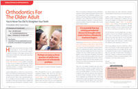 Adult Orthodontics - Dear Doctor Magazine